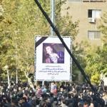 مراسم تشییع پیکر مرتضی پاشایی