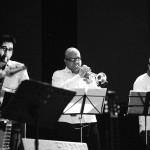 حسین شریفی ، علیرضا میرآقا و بنیامین بیانی