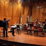 تمرین گروه ارکستر موسیقی نو