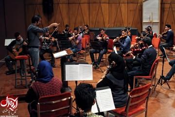 تمرین گروه ارکستر پاسارگاد