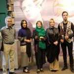 مراسم رونمایی از آلبوم من یه خوانندم امیر سینکی