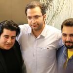 مراسم رونمایی و جشن امضای آلبوم چمدون تو مهدی یغمایی