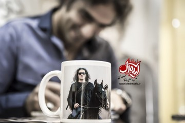 جشن امصای آلبوم دوئل در آینه رضا یزدانی - خرداد 95
