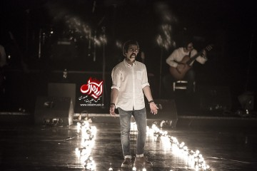 کنسرت گروه پالت - خرداد 95